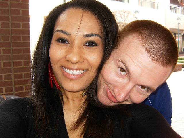 Interracial Couple Melissa & Keith