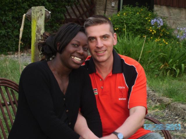 Interracial Marriage Stabua & Chris