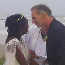Interracial Marriage Jannett & Neil - United States - Jamaica