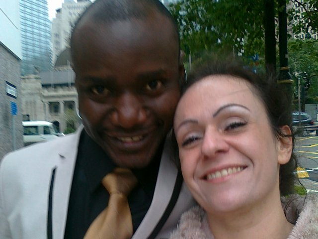 Interracial Marriage Zsuzsa & Lusekelo - United Kingdom