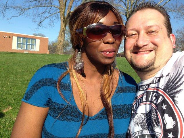 Interracial Couple Brenda & Robert - Connecticut, United States