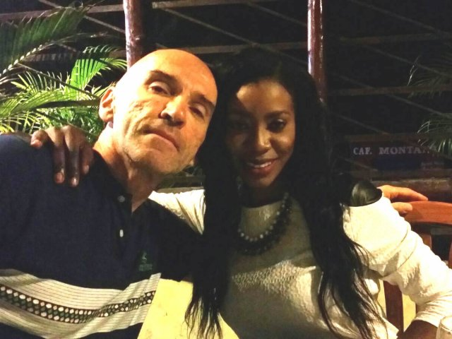 Interracial Couple Khamika & Petar - Santo Domingo, Distrito Nacional, Dominican Republic