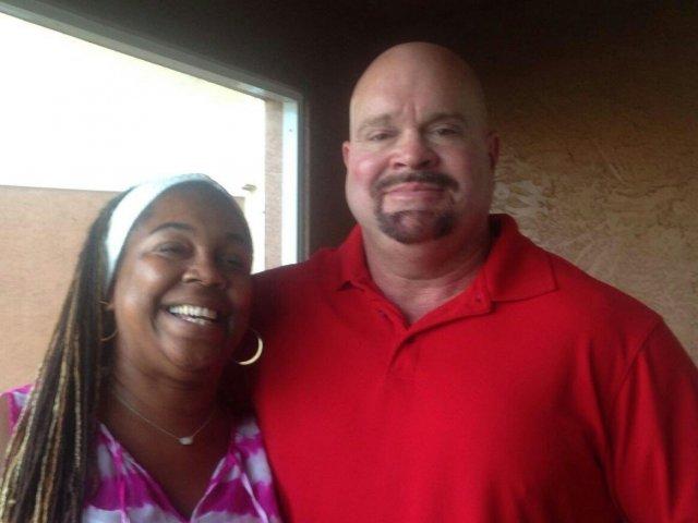 Interracial Couple Lisa & Joe - Tampa, Florida, United States