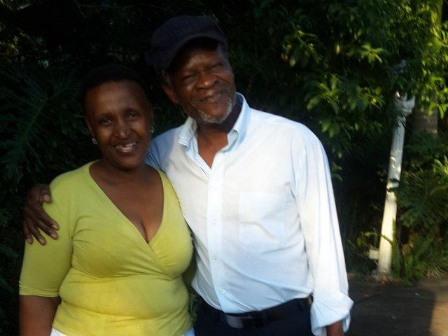 Interracial Couple Zukiswa & Omar - Phalaborwa, Northern Province, South Africa