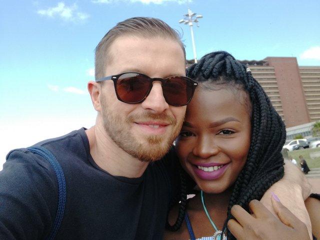 Interracial Couple Vongai & Charlie - Johannesburg, Gauteng, South Africa