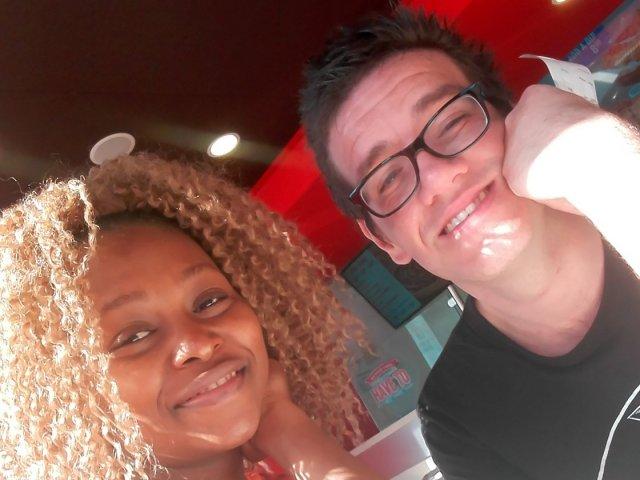 Interracial Couple Siya & Ruan - Western Cape, South Africa