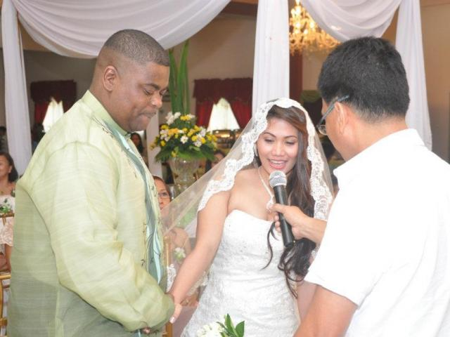 Interracial Marriage Catherine & Dorian - Philippines - United States