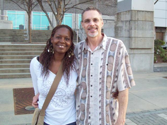 Interracial Couple Hope & Vince